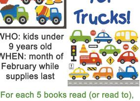 Read Books 4 Trucks!!!