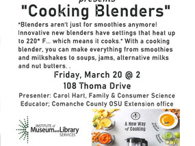 What is a Cooking Blender?