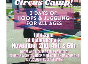 Hoops & Juggling Camp