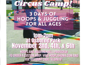 Hoops & Juggling Camp