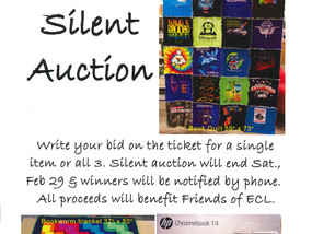 Library Lovers Month Silent Auction
