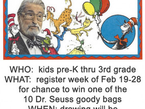 WIN!!! Dr. Seuss Giveaways!