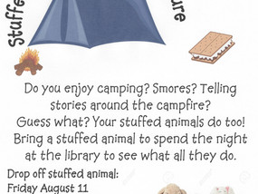Camping Adventure at the Library
