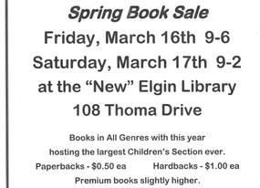 Book Sale! Book Sale!