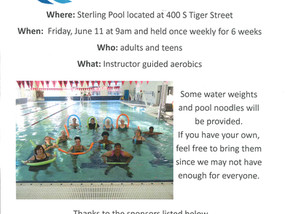 Aqua Aerobics for Adults and Teens