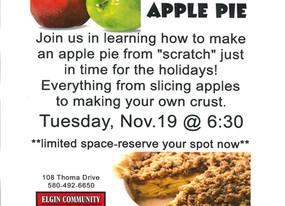 Apple Pie! Yummy!