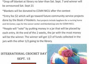Crochet Baby Blanket Contest
