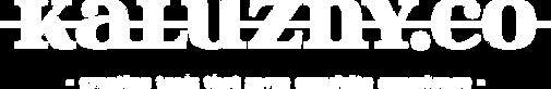 Kaluzny.co logo z podpisem white.png