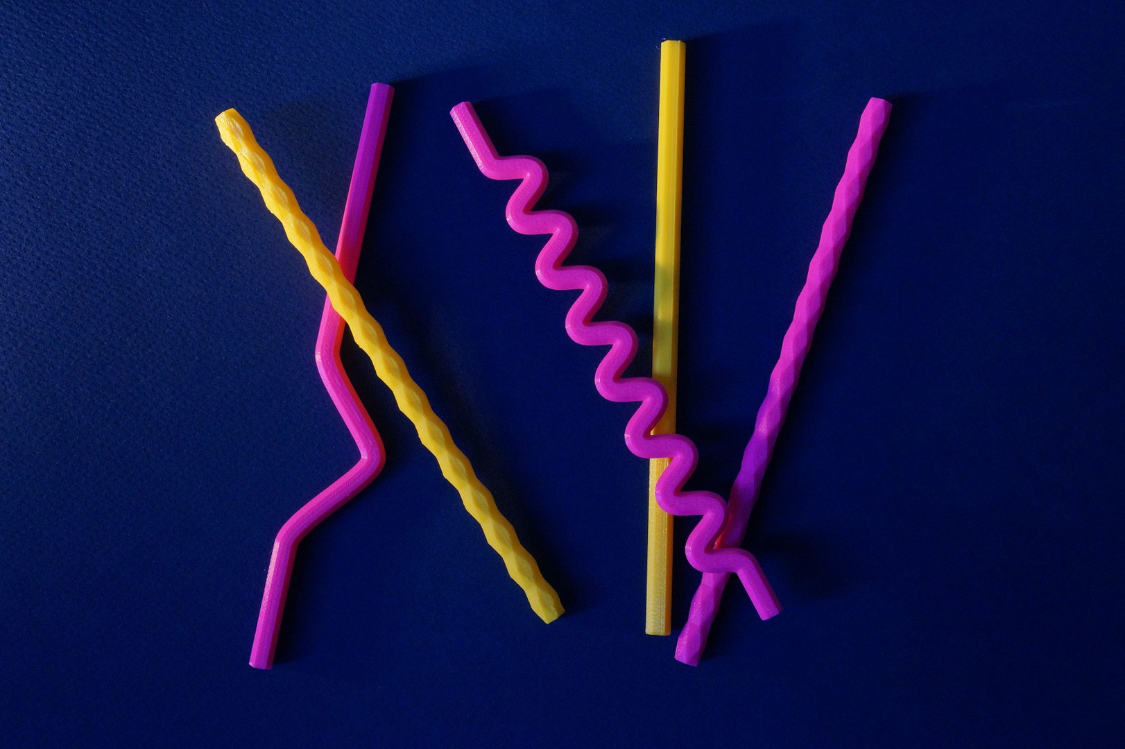 rurki wielokrotnego uzytku z PLA w dowolnych kolorach