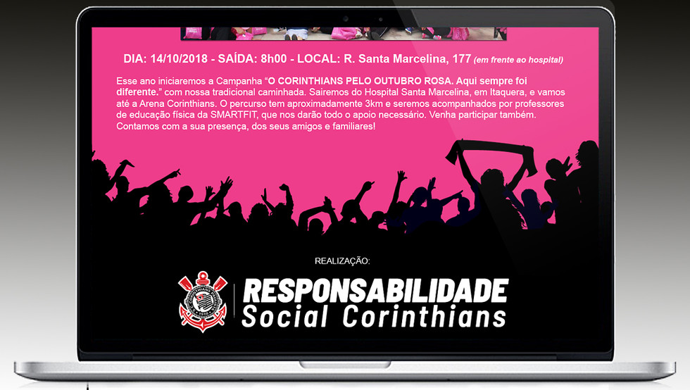 Corinthians Outubro Rosa