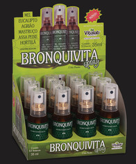 Embalagem Display Bronquivita