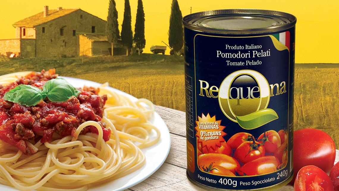 Rótulo Tomate Pelado