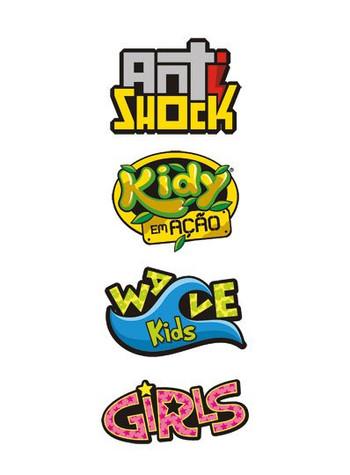Logos de linhas Kidy Calçados