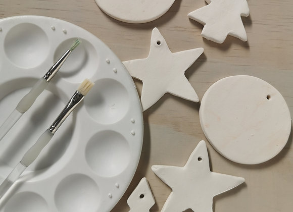 Xmas decorations painting kit