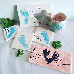 Baby foot print Memorabilia