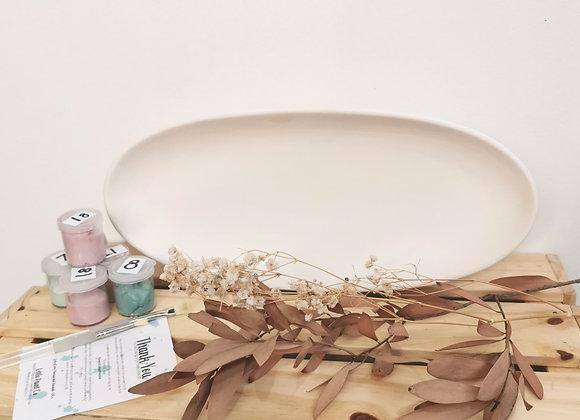 Oval Platter Medium - Adults Take Home Kit