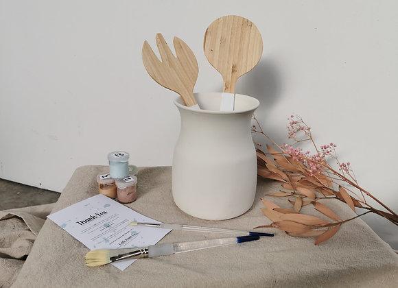 Utensil Vase - Adult Take Home Kit