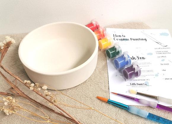 Flat Bowl Sml - Adult Take Home Kit