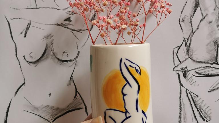 Girl Talk Vase Painting Workshop