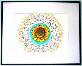 Framed Summer Print
