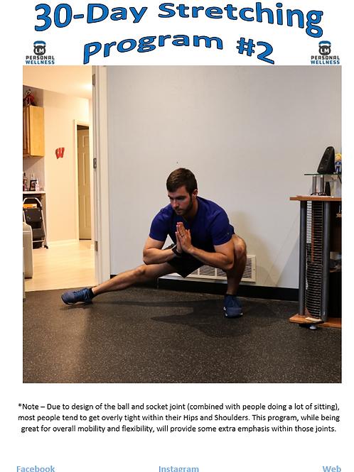 30-Day Stretching Program #2