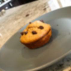 Healthy Banana Chocolate Chip Muffins (e