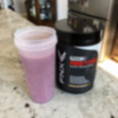 Chocolate Berry Protein Smoothie (Edited