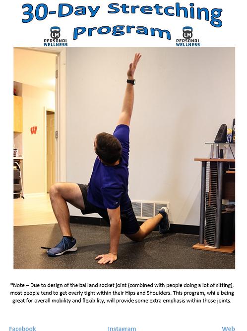 30-Day Stretching Program