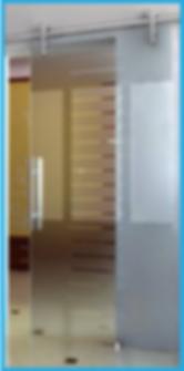 Commercial Office frameless glass in Summerlin las vegas henderson nv