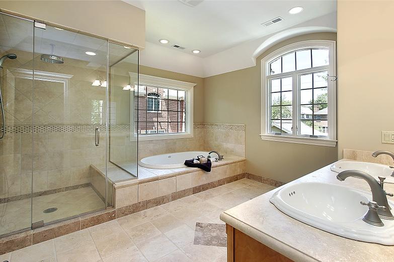 Frameless Glass Shower Door Enclosure Henderson Las Vegas Seamless Tub