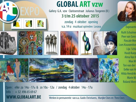 Global art expo Oktober 2015