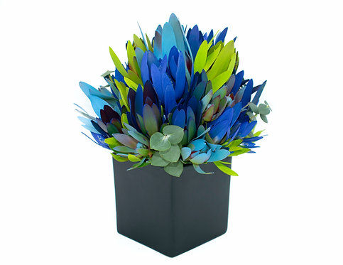 Small Blue Mix Black Ceramic