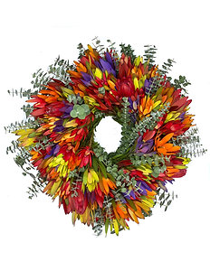 Multicolor Mix Wreath