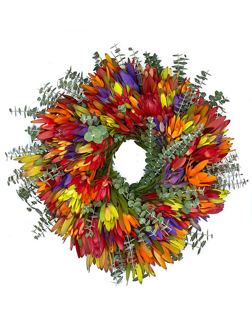 Multicolor Mix Wreath