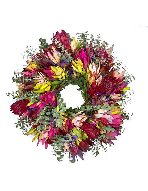 Pink Mix Wreath
