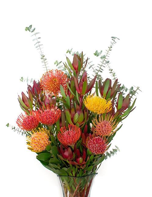 Tropical Protea Bouquet 25 stems