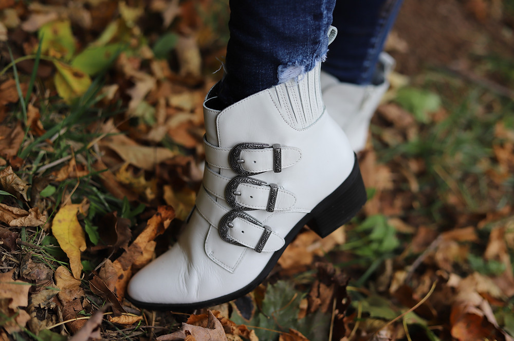 White Boots, Steve Madden, Booties, White Booties, Boots