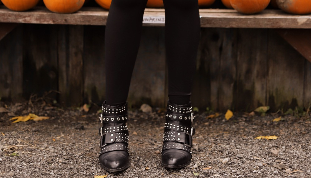 Boots, Booties, DSW, Studded Boots, Black Boots, Black Booties, Fergalicious by Fergie, Style Blog, Fashion Blog, Blog,