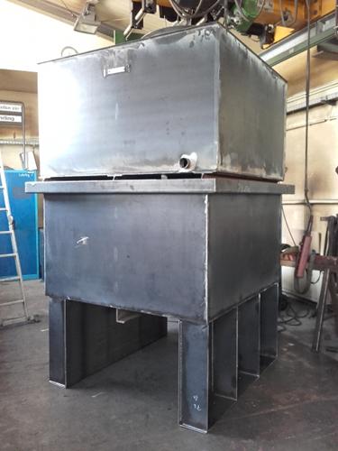 Behälterbau Tank 5