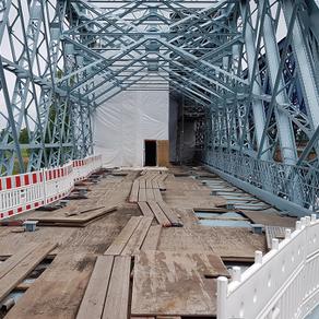 04/2020 - Hafenbrücke Alberthafen - Dresden