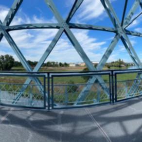 11/2020 - Hafenbrücke Alberthafen - Dresden