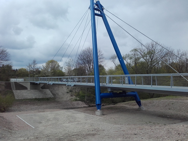 Stahl Brücke 1