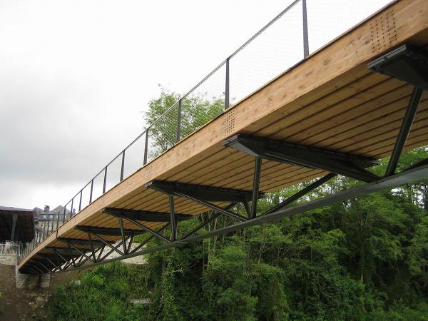 Stahl Brücke 4