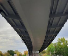 "09/2020 - Endspurt! Brückenbau ""Straße der Nationen"" - Erfurt"