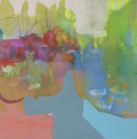 Reflecting | 2015 | Mixed Media on Canvas
