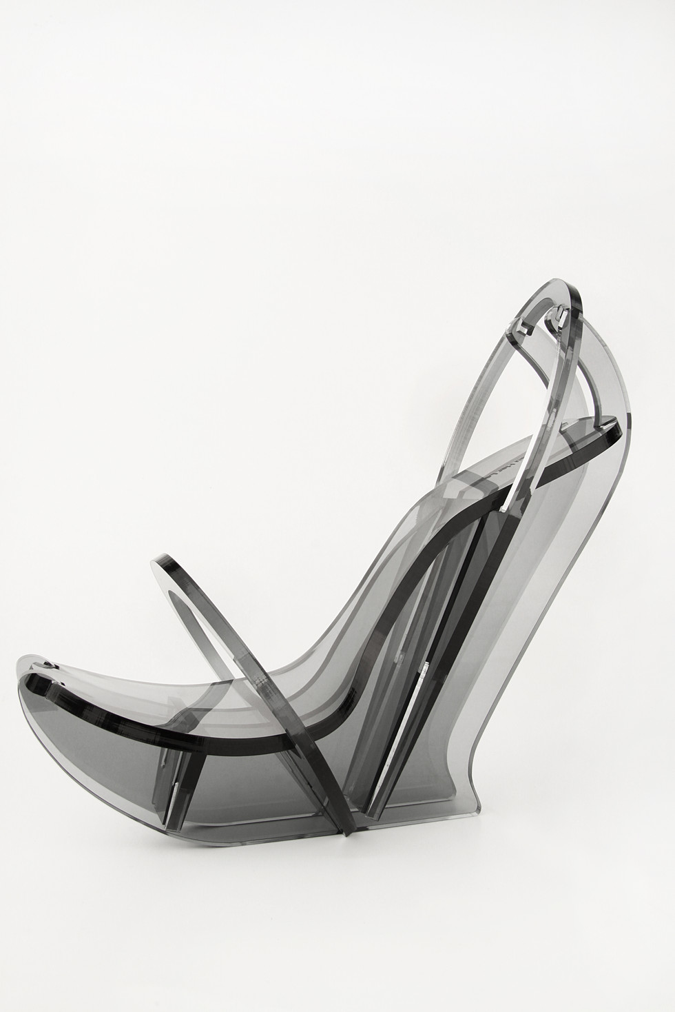 Perspex shoe