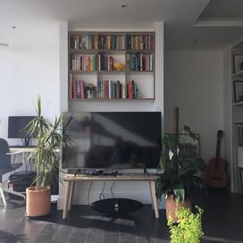 Media shelves