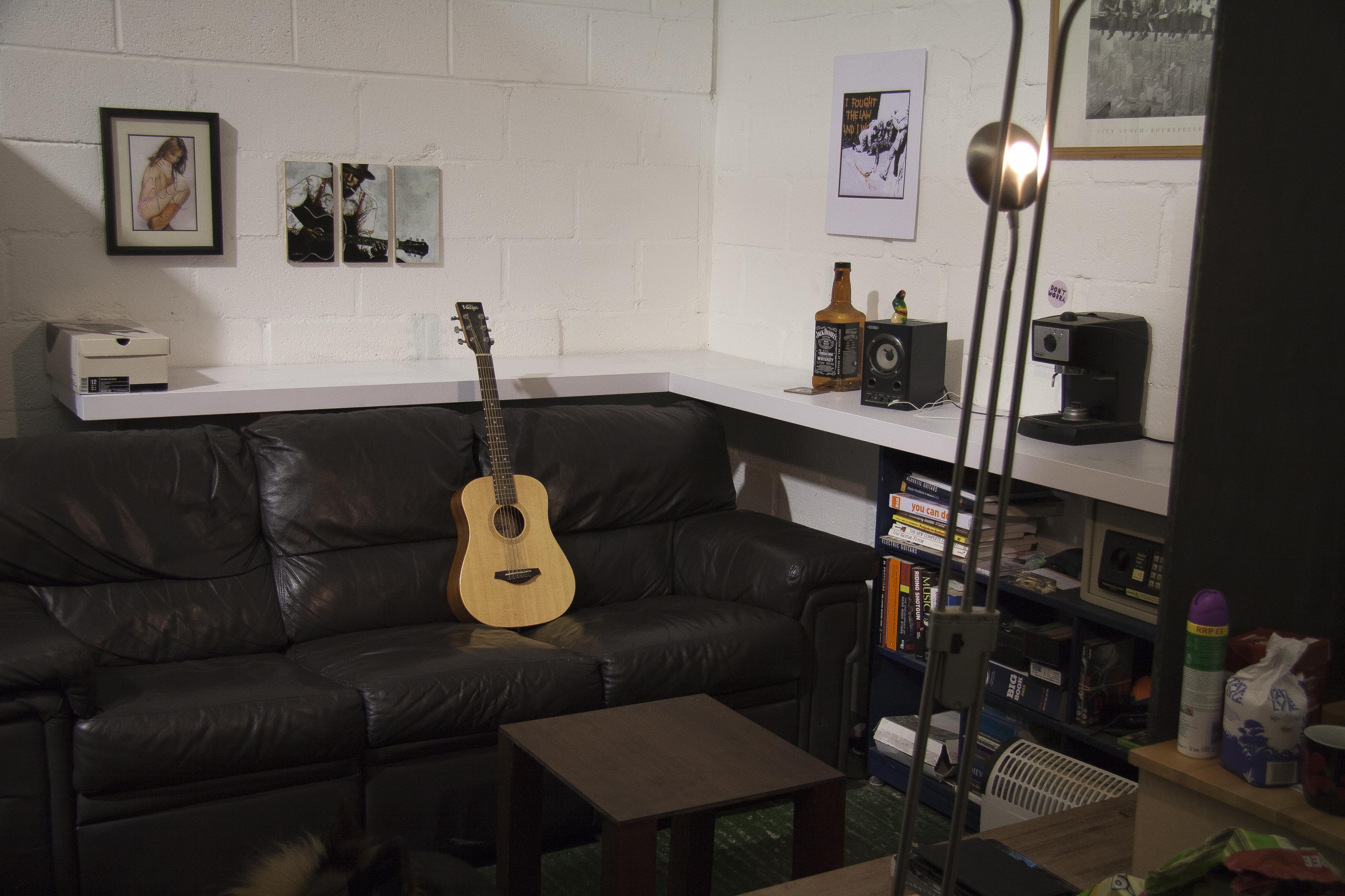 Chill area at Hunter Studio