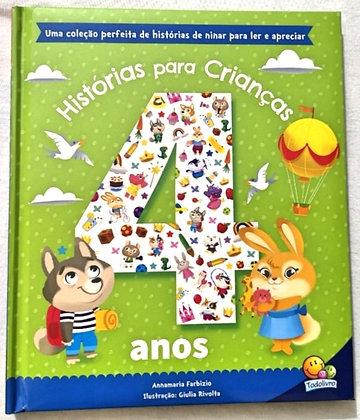 Histórias para crianças de 4 anos