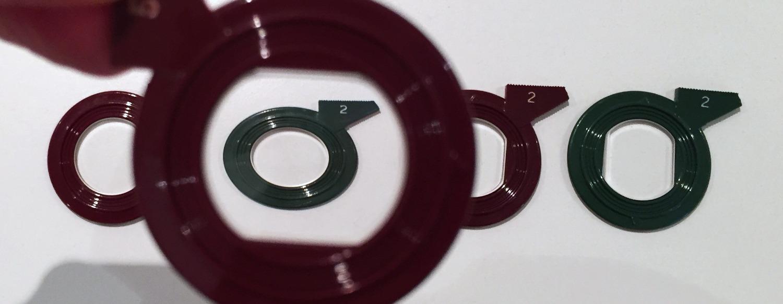 Cilindro miópico a 0º